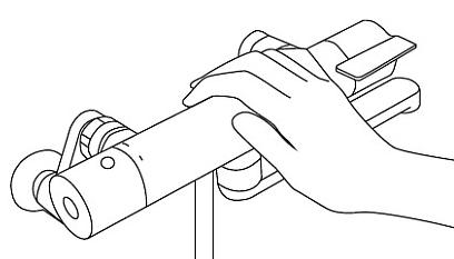 混合水栓 浴室 水栓 シャワー GG サーモスタット